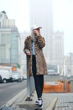 Get this look: http://lb.nu/look/8538679  More looks by Fisty Fistkowska: http://lb.nu/fisty  Items in this look:  Pogo Cap, Zara Coat, Levis Jacket, Topshop Jeans, Vans Sneakers, Pogo T Shirt   #punk #street #vintage #leopard #fur #fauxfur #pogo #skate #skateboarding