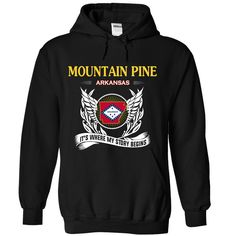 MOUNTAIN PINE It's Where My Story Begins T-Shirts, Hoodies. SHOPPING NOW ==► https://www.sunfrog.com/No-Category/MOUNTAIN-PINE-Its-Where-My-Story-Begins-6184-Black-Hoodie.html?id=41382