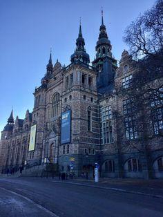 Nordiska Museet på Djurgården - Stockholm in February #Stockholm #Sweden #Sverige #perkamperin perkamperin.com/