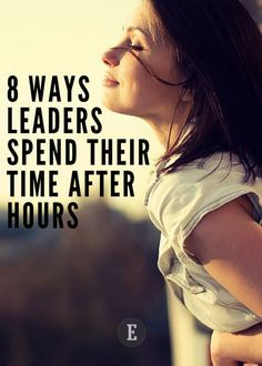 """You'll never hear a leader described as a """"couch potato."""" To be more like a leader, get up, get out -- and get going."""