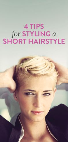how to style short hair #Beauty