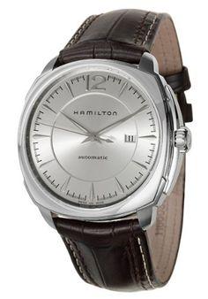 Hamilton Men s H36515555 Cushion 1923 Silver Dial Watch Hamilton.  498.54.  Stainless-steel case 4f39de7036