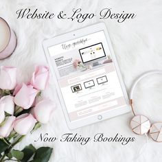 Let us design a beautiful new website for you and your brand! www.elizagwendalyn.com/website-design/