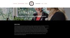 Hyvän olon kellari, www-sivut. Suunnittelu: Heidi Sarjanoja/Valokki Design.