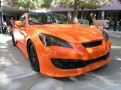 Lux Motorwerks 2009 Hyundai Genesis Coupe at the 2009 SEMA Show http://www.knfilters.com/news/news.aspx?ID=2378