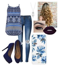 """""""Untitled #260"""" by xox-calumsgxrl on Polyvore featuring Lucky Brand, WithChic, Dorothy Perkins, Pour La Victoire, Lime Crime and Sonix"""