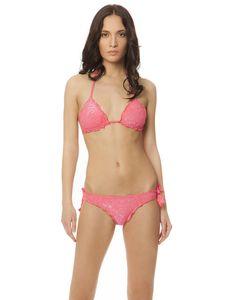 MAYA SOFT FLOWERS TRIANGOLO #paradisebeachwear #bikini #beachwear #style #fashion #sun #sea #beach #fun #love #friends #woman #apparel #summer #pink