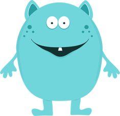 monster clipart cute - Pesquisa Google                              …