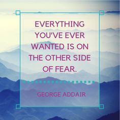 Don't let fear become the hurdle that keeps you from achieving your goals. #motivation