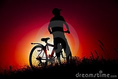 The boy with a bicycle by Lext, via Dreamstime