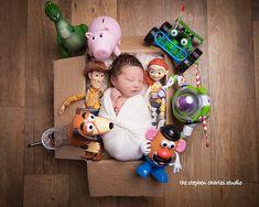 Monthly Baby Photos, Newborn Baby Photos, Baby Boy Photos, Newborn Shoot, Newborn Pictures, Baby Boy Newborn, Baby Pictures, Toy Story Nursery, Toy Story Baby