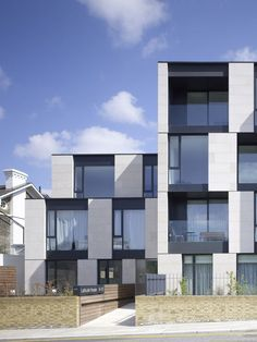 42 Modern Apartment Architecture Design 2018 - 2020 Home design Architecture Design, Facade Design, Residential Architecture, Contemporary Architecture, Exterior Design, House Design, Building Facade, Building Design, Residential Complex