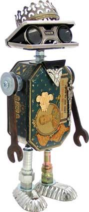 /tara/ Harmon Chill i feel like you need him in your life Edward XIII Recycled Robot, Recycled Art, Found Object Art, Found Art, Sculpture Metal, Abstract Sculpture, Steampunk Robots, Scrap Metal Art, Assemblage Art