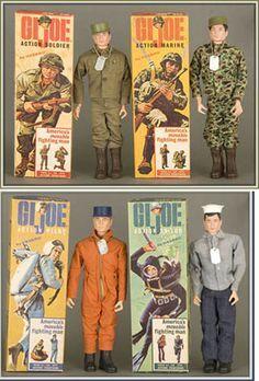 Barbie did date GI Joe. Vintage Toys 1960s, 1960s Toys, Retro Toys, Vintage Dolls, 1970s, Gi Joe, My Childhood Memories, Childhood Toys, Madame Alexander