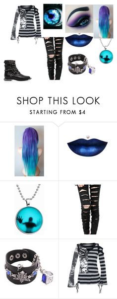 Nightmare by silliavinete8 on Polyvore featuring Yves Saint Laurent, casual, Dark, emo, scene and goth