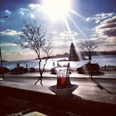 İstanbul / Turkey- I miss this ! Tea by the sea