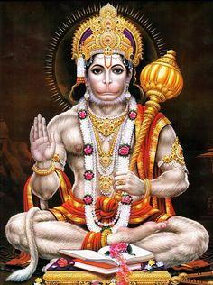 The Panchamukha Hanuman is considered a very auspicious god. His five faces that of Hanuman, Hayagriva, Garuda, Varaha and Narasimha confer special blessings upon devotees. Hanuman Images Hd, Hanuman Ji Wallpapers, Hanuman Photos, Ganesh Images, Krishna Pictures, Krishna Images, Hanuman Chalisa In English, Shree Hanuman Chalisa, Ram Hanuman
