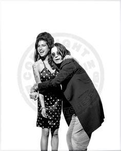 Amy Winehouse and Ozzy