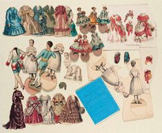 Paper Dolls, 1790-1940 - The Collection of Shirley Fischer: 48 French Paper Dolls and Game Dolls from La Poupee Modele