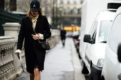 Paris Haute Couture Spring 2015 Street Style -  Day 3