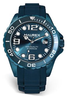 Price:$186.56 #watches Haurex 1K374UB2, Haurex Italy Ink Men's Blue Watch