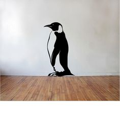 Penguin Wall Decal by DecalsAffordable on Etsy
