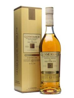 Glenmorangie 12 Year Old / Nectar D'Or / Sauternes Finish Single Malt - Mellow with a lemony-citrus finish.  A little bit of a burn, so a tiny splash of water, or a chip of ice works wonders.