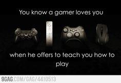Gamer Love - My HoneyBear tried to tech me how  to play MW3 lol I failed...miserably!