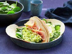 Egg- og avokadosalat med kalkun