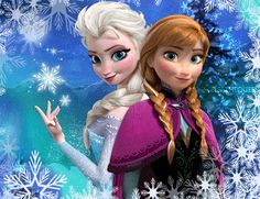 Frozen images Anna and Elsa wallpaper and background photos (34853341)