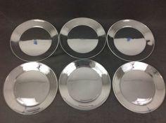 Luminarc Cristelle Cosmos Classique SIX 10 Inch Dinner Buffet Plates    #Luminarc