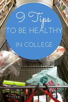 9 tips for how to be healthy in college - the freshman 15 really is a thing! Fight those pounds and stay fit by following these healthy living tips for college students