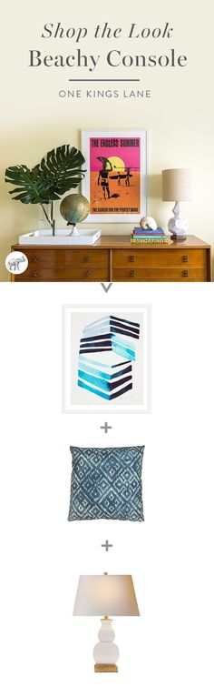 Love the look? So do we! Shop everything you need to recreate Matthew Caughy's eclectic and inspiring beach house here!