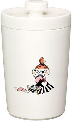 Moomin biscuit jar by Arabia Finland #moomins #moomintrolls