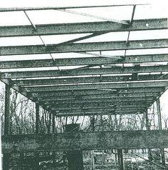 Ludwig Mies van der Rohe (1886-1969)   Edith Farnsworth Residence   Plano, Illinois   1946-1951