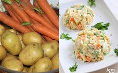 Sałatka jarzynowa w starym stylu. Albo ze świeżych warzyw, albo wcale Carrots, Vegetables, Foods, Diet, Essen, Food Food, Food Items, Carrot, Vegetable Recipes