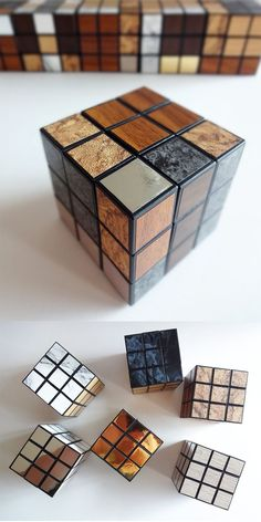 10 COOLEST Creative Rubiks Cubes For Sale And For You (Unbelieveable!) - [http://theendearingdesigner.com/62-unique-rubiks-cubes/]