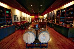 The Farmer's Daughter Vineyard's tasting room downtown (photo by Mike Walker)