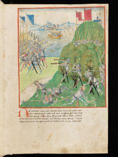 Bern, Burgerbibliothek, Mss.h.h.I.2: Diebold Schilling, Amtliche Berner Chronik, vol 2 · 1478-1483 Language:German (http://www.e-codices.unifr.ch/en/list/one/bbb/Mss-hh-I0002)