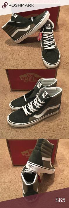 cd61d0c393c 2 Tone SK8Hi Reissue Vans New in box. Duffel Bag Burnt Vans Shoes Sneakers