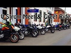 Suzuki V-Strom Meetup Part 1 - YouTube
