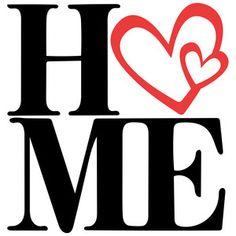Home Silhouette Design Store - View Design home love title Silhouette Cameo Vinyl, Silhouette Curio, Silhouette Projects, Silhouette Design, Wall Stencil Patterns, Stencil Designs, Vinyl Designs, Wall Paper Phone, Sign Design