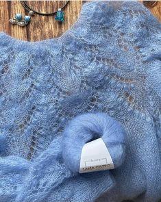 Lace Knitting Patterns, Knitting Stitches, Knitting Designs, Sewing Patterns, Col Crochet, Crochet Shirt, Crochet Yarn, Summer Knitting, Baby Knitting