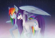 Rainbow Showers by TheNornOnTheGo.deviantart.com on @DeviantArt