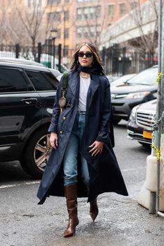 New York Fashion Week Street Style, Nyfw Street Style, Autumn Street Style, Cool Street Fashion, City Fashion, Spring Fashion Outfits, Fall Outfits, Fashion Ideas, Fashion Fall