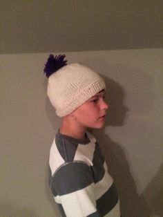 Customizable Hand Knit Hat by HBrookeWorm on Etsy