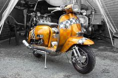 Gp Lambretta Scooter, Vespa Scooters, Sidecar, Motor Scooters, Chopper, Cars And Motorcycles, Greece, Wheels, Princess