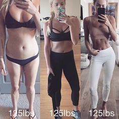 These side-by-side photos prove that those numbers on the scale don't really mean much.