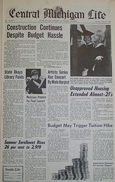 Central Michigan Life, June 29, 1967 Central Michigan University