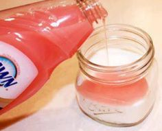 SUGAR HAND SCRUB 1. Fill mason jar 3/4 of the way full with sugar. 2. Add dawn dish soap until it reaches just below the mouth of the jar.~ The pink one that has the Olay in it is the best! It smells good and moisturizes! 3. Stir the sugar and soap together until it is paste like. If it seems to be too runny, add a little sugar at a time until it is the desired consistency. 4.You can tie with a jute twine or ribbon and give as a gift, or use for yourself.